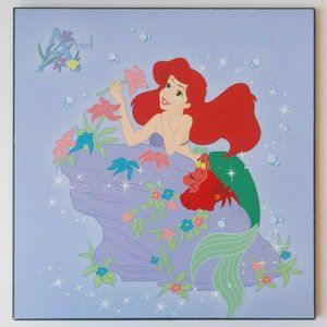 Disney Little Mermaid Wall Plaque